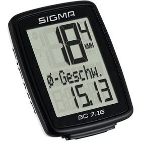 SIGMA SPORT BC 7.16 Bike Computer kabeldreven